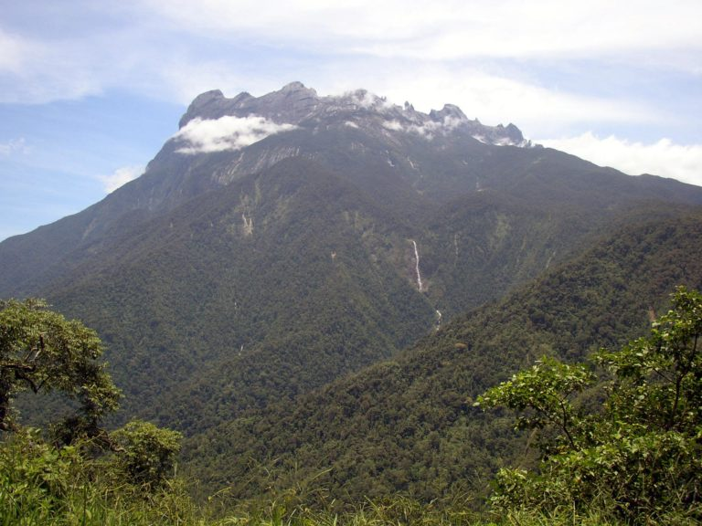 Mount Kinabalu by NepGrower at the English Language Wikipedia. CC-BY-SA 3.0 via Wikimedia Commons.