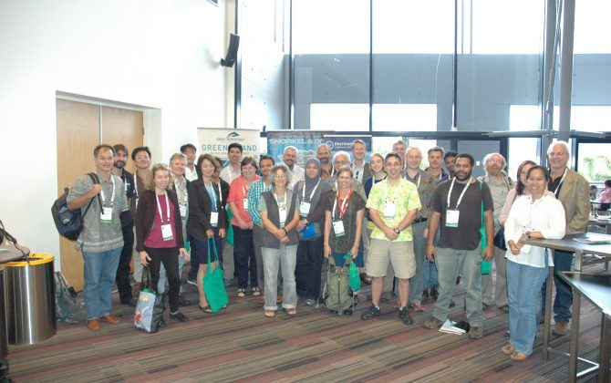 Representatives of the ATBC AP chapter at ATBC2014, Cairns, Australia